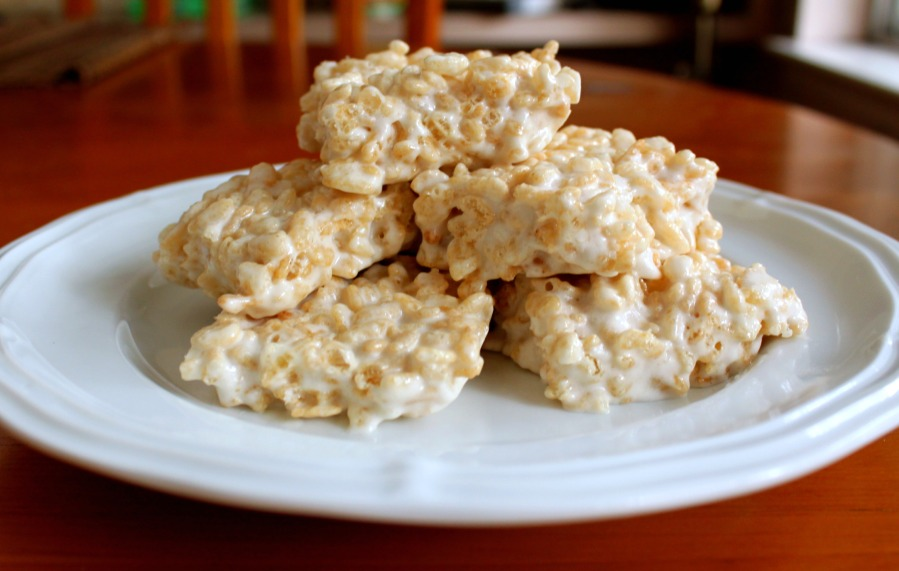 Marshmallow Rice Krispies Squares